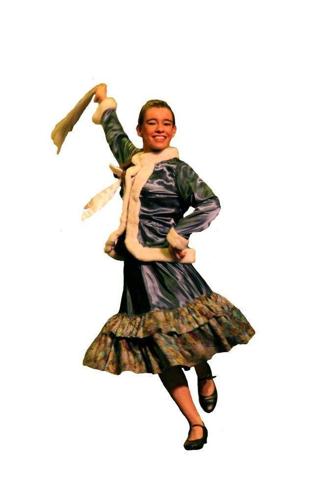 Danseuse folklorique ukraine