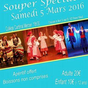 Souper-Spectacle le Samedi 5mars