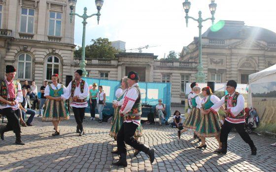 L'Ensemble Clap'Sabots à Bruxelles Champêtre 2016
